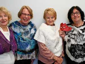 Textile talents go wild for rare exhibit
