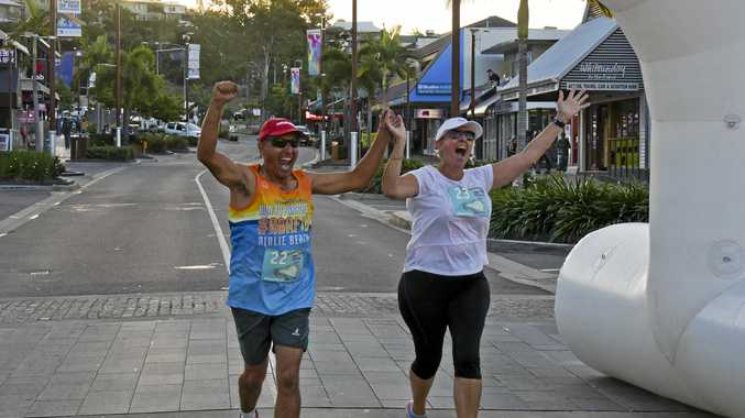 The Whitsunday Reef Festival's Magic Mile event on Saturday evening.