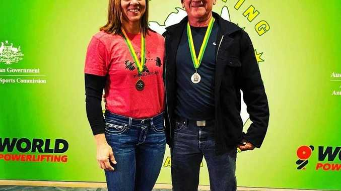 Leanne Knox and Rod Wecker won medals at the 2018 Powerlifting Masters Nationals.