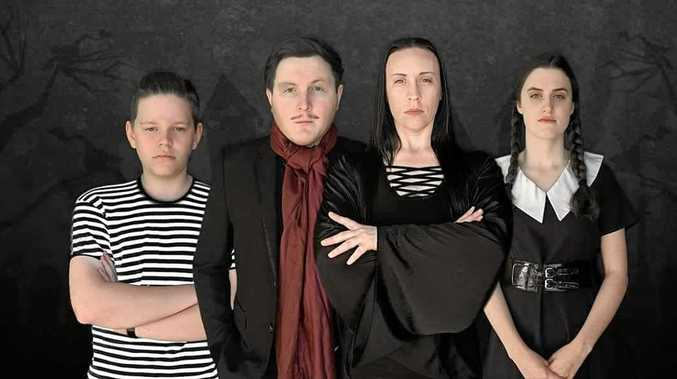 SPOOKY: The Addams Family production will hit the stage this weekend for the Roma Performing Arts production.