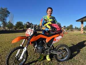 Rider clicks into gear