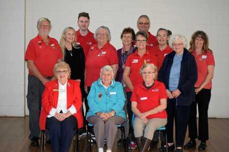 Members from the Childers, Bundaberg and Gayndah Red Cross met in Gayndah for the Gayndah AGM.