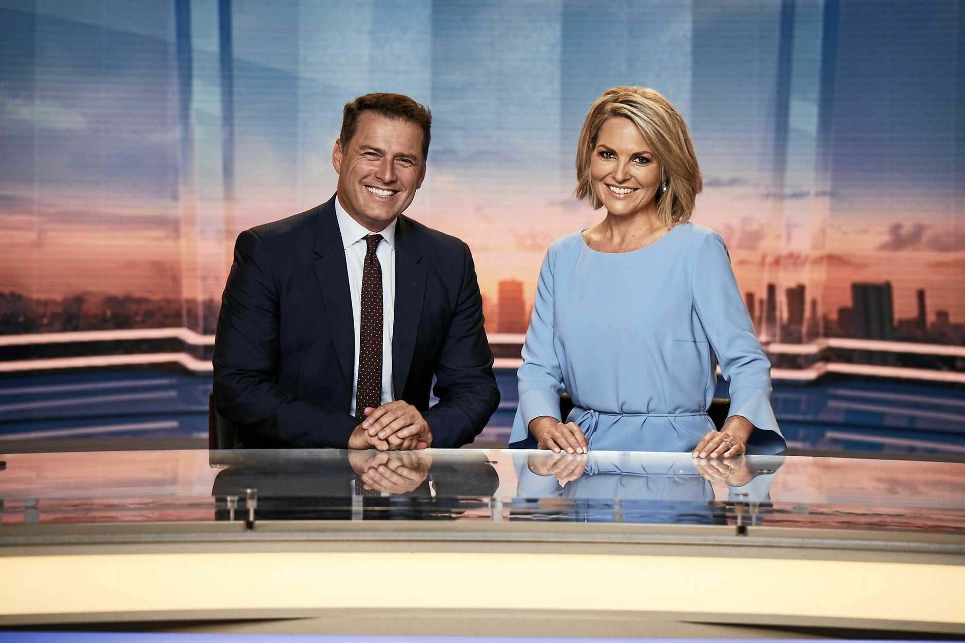 It is understood Georgie Gardner will broadcast from Channel 9's studio in Sydney.