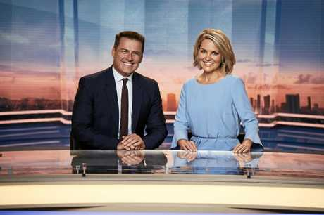 It is understood Georgie Gardner will broadcast from Channel 9's studio in Sydney.