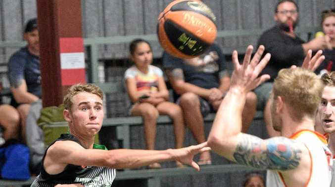 RETURN: Maryborough Magic might have struggled for results early in their return to Central Queensland Basketball League, but this season is a major success.