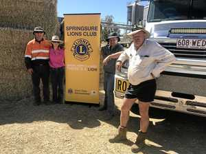 CQ country town unites for a generous road delivery
