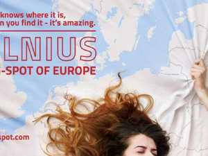 'G spot of Europe': raunchy ad under fire