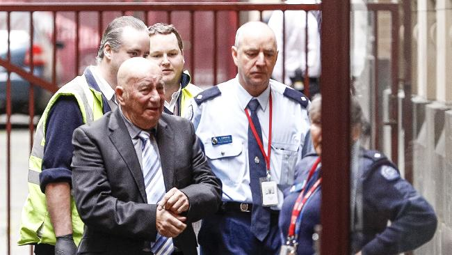 Peter Pavlis was jailed for 17 years but will be eligible for parole after 12 years over the murder of his former business partner. Picture: AAP.