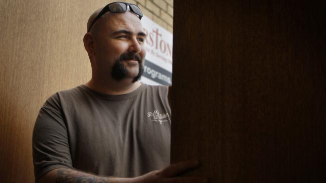 Darin Wheeldon pictured around the time he met his victim in 2010.