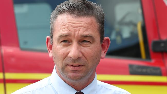 Fire and Emergency Services Minister Craig Crawford