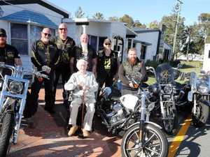 Biker group rescues harassed 97-y-o