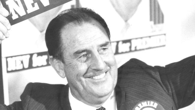 Nev Warburton has died aged 86. Picture: The Courier-Mail