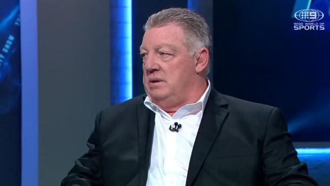 Phil Gould didn't mince words on Anthony Griffin.