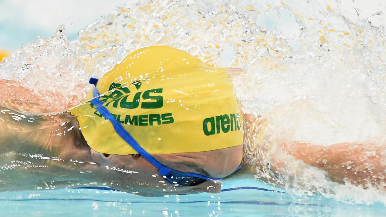 Kyle Chalmers has fallen just short in his bid to reach the 200m freestyle final in Tokyo. Picture: Matt Roberts
