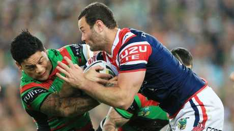 Cordner has been involved in some ding dong battles against the Roosters. Picture by Mark Evans.