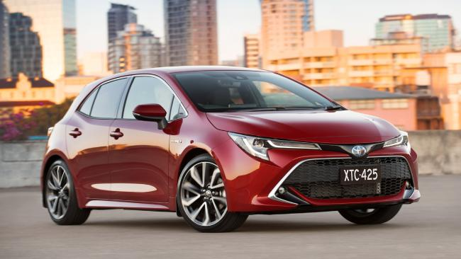 Toyota's new Corolla has a sleeker, more modern look. Picture: Supplied.