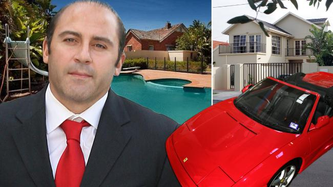 Tony Mokbel amassed a property empire with his ill-gotten gains.