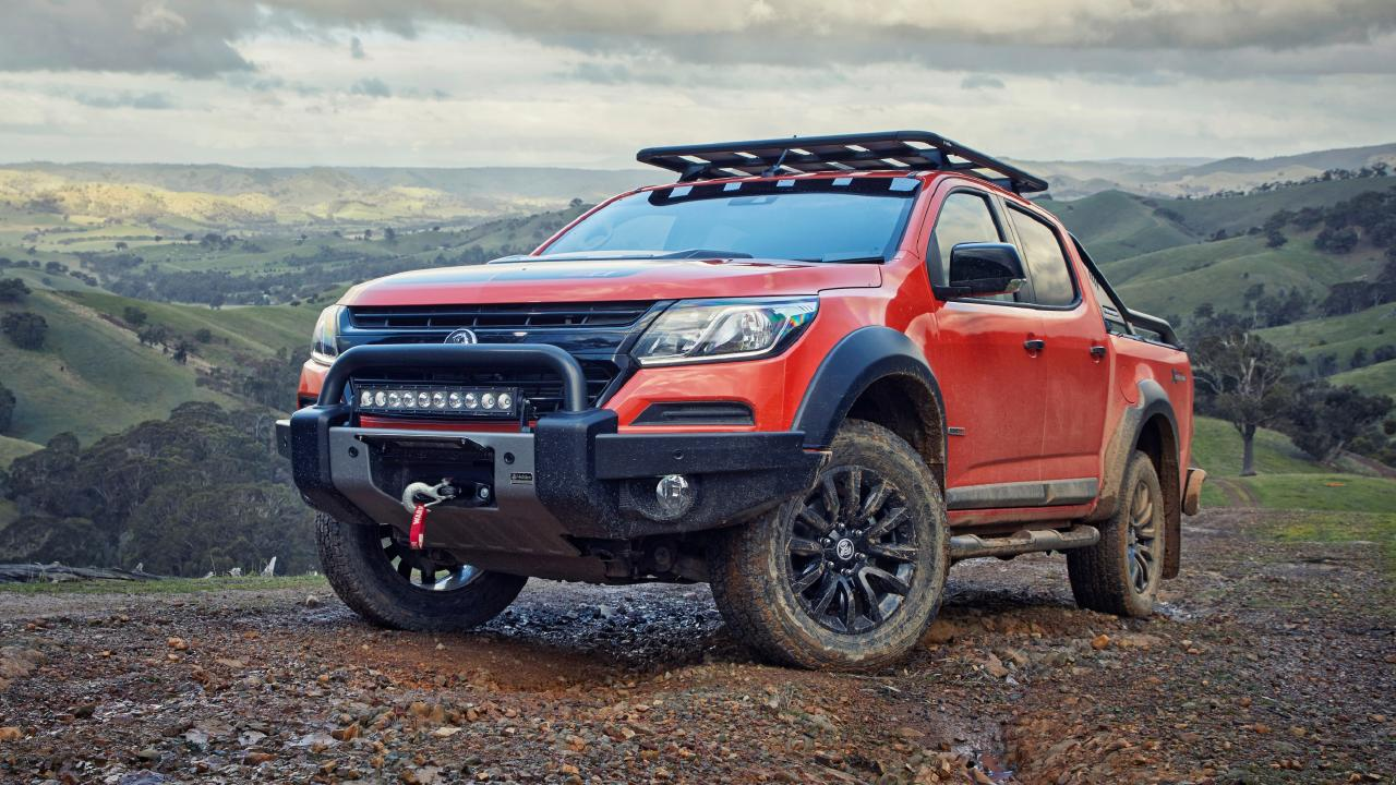 Holden has given the Colorado the tough truck treatment, but does it go far enough? Picture: Supplied.