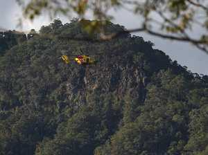 Cliff face scoured in perilous search for missing man