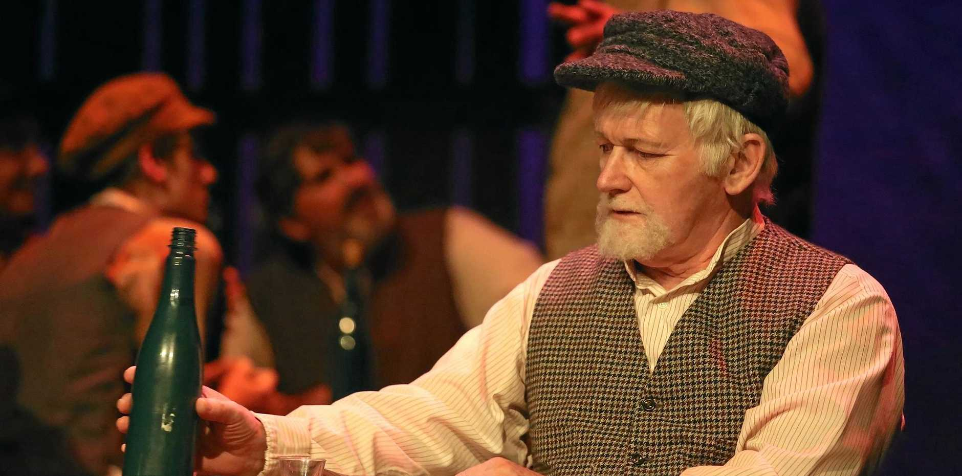 ON STAGE: Richard Chiverrell, in his role as Lazar Wolf in the sell-out Fiddler on the Roof, believes Hello, Dolly! will be equally successful with its blend of comedy, colour, dance and song.