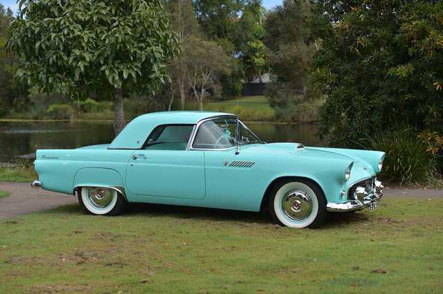 1955 Ford Thunderbird Sunshine Coast Daily