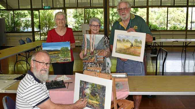 A CELEBRATION: Fernvale Artists Group will again be showcasing their talents at their annual exhibition this weekend.