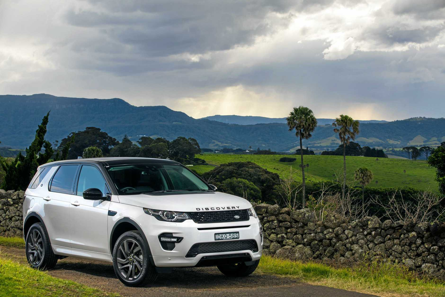 The Land Rover Discover Sport.