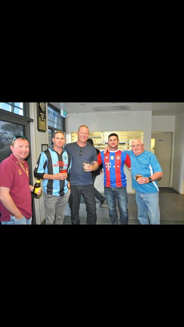 Coalstars supporters enjoy a previous reunion at the Knights club.