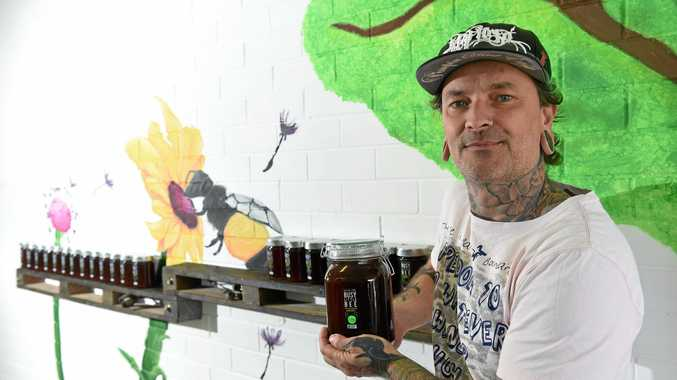 Nature Zone Busy Little Bee owner Tony Parancin is passionate about raw Australian honey and has opened a store in Ballina to distribute honey and other local products.