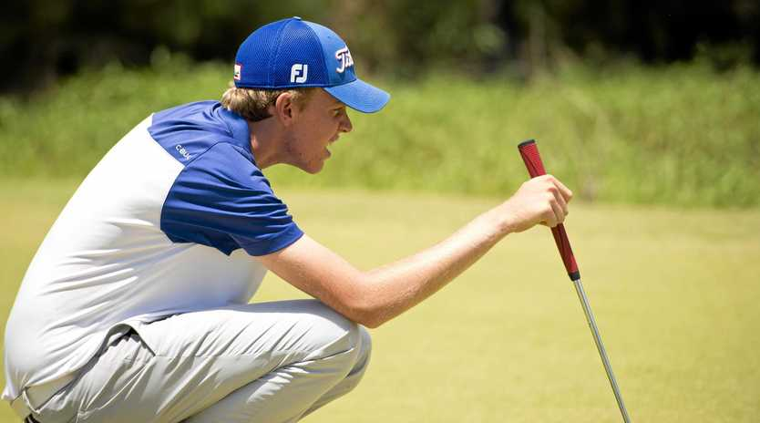 Yeppoon golfer Ben Swaffield has headed to the US to take up a scholarship with Alabama State University.