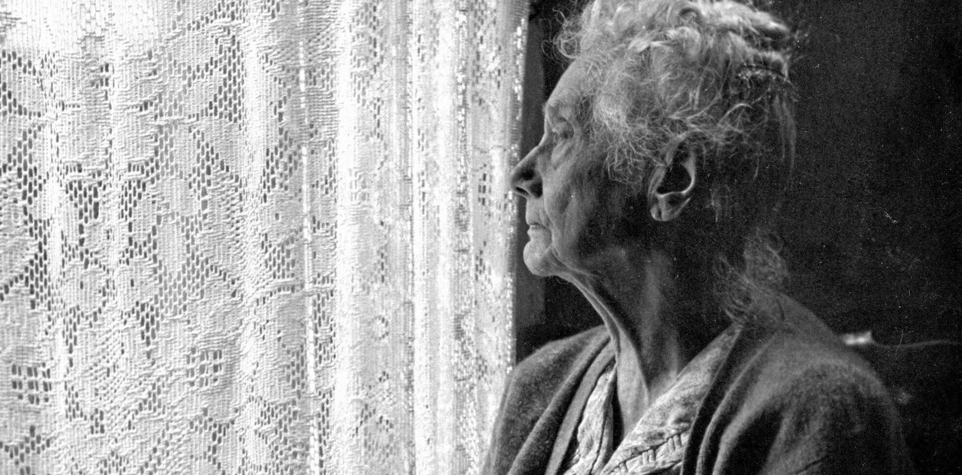 FILE PHOTO: Elderly people were targetted by a brazen break in
