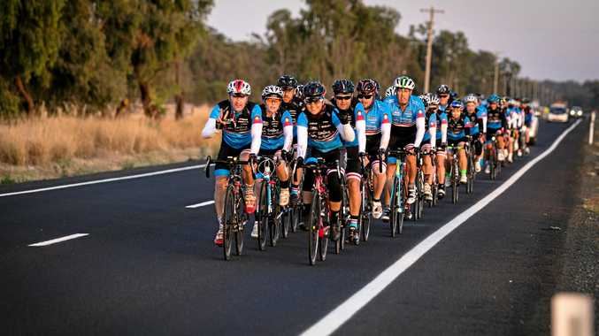 As part of the 2018 Bottlemart Smiddy Challenge, 50 cyclists and 16 road crew will be making their way through the South Burnett to raise funds for cancer research.