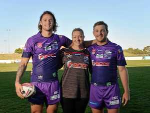Purple Cutters sparked by Women in League round