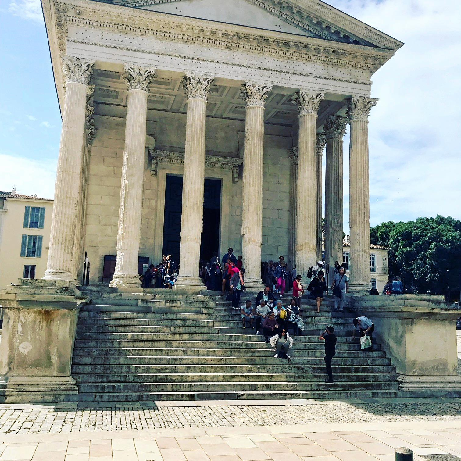 The Square House temple, Nimes.