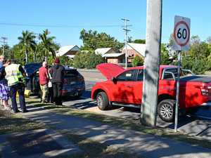 Series of multi-vehicle crashes in Rocky suburb this morning