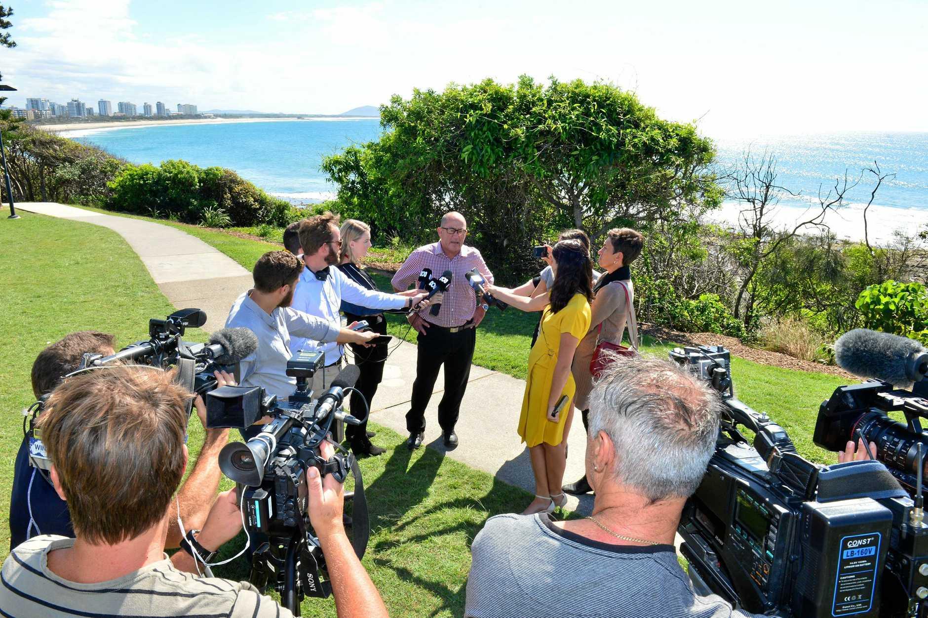 Ashley Robinson speaks about Brendon Johnsson's drug arrest in Bali.