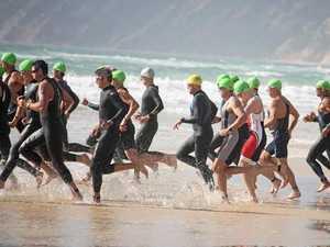 Tourist town taken over as coast hosts two-day triathlon
