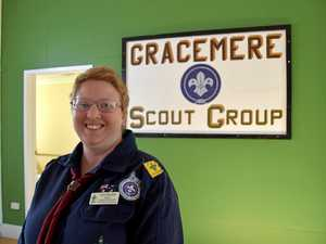 Inside Gracemere Scouts' new and improved club house