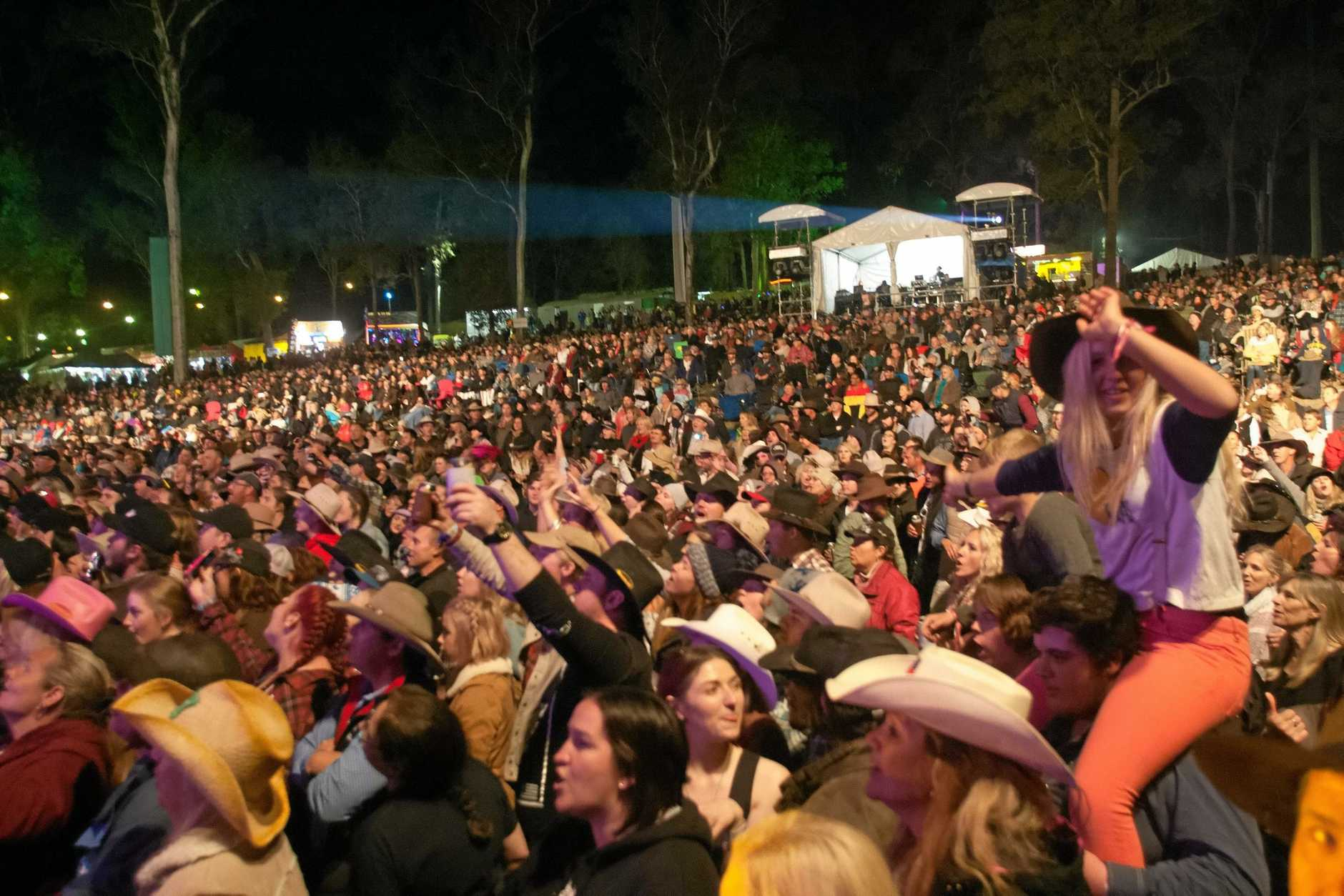 The Gympie Muster.