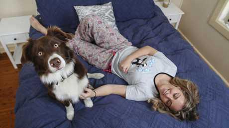 Julie Goddard admits to feeling grouchy when she hasn't had enough shut-eye. Picture: Justin Lloyd