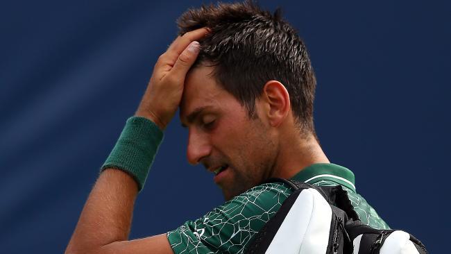 Novak Djokovic has concerns but said change was needed.