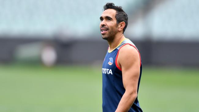 Eddie Betts had some weird thoughts with relation to punching.