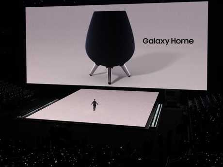 The Galaxy Home is designed to deliver music first and answer questions second. Picture: Jennifer Dudley-Nicholson.