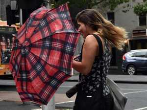 Damaging gales batter Victoria ahead of miserable weekend