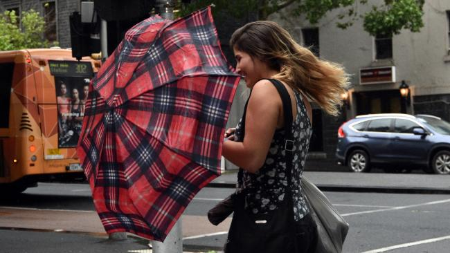 Melbourne has been buffeted with strong winds. File image: AAP Image/Julian Smith