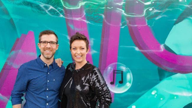 Craig Zonca and Rebecca Levingston co-host ABC Brisbane Breakfast.