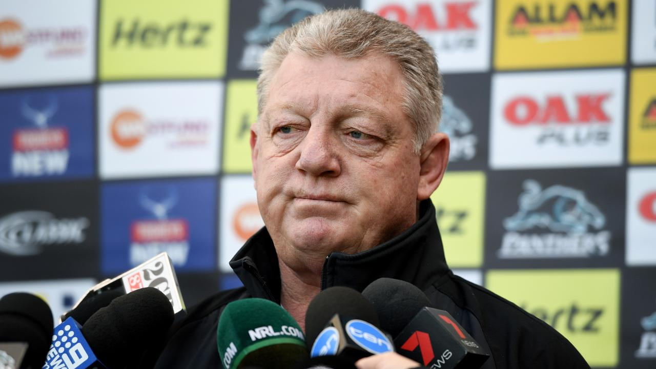 Penrith powerbroker Phil Gould has had a very messy week. Picture: Joel Carrett/AAP
