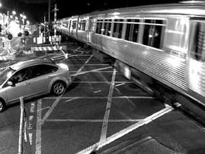 Drivers dice with death at level crossings