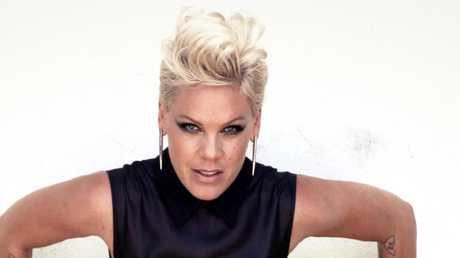 Pink was left traumatised by the wildlife on a Queensland road trip with her husband Carey Hart in 2009. Picture: James Dimmock/Headpress