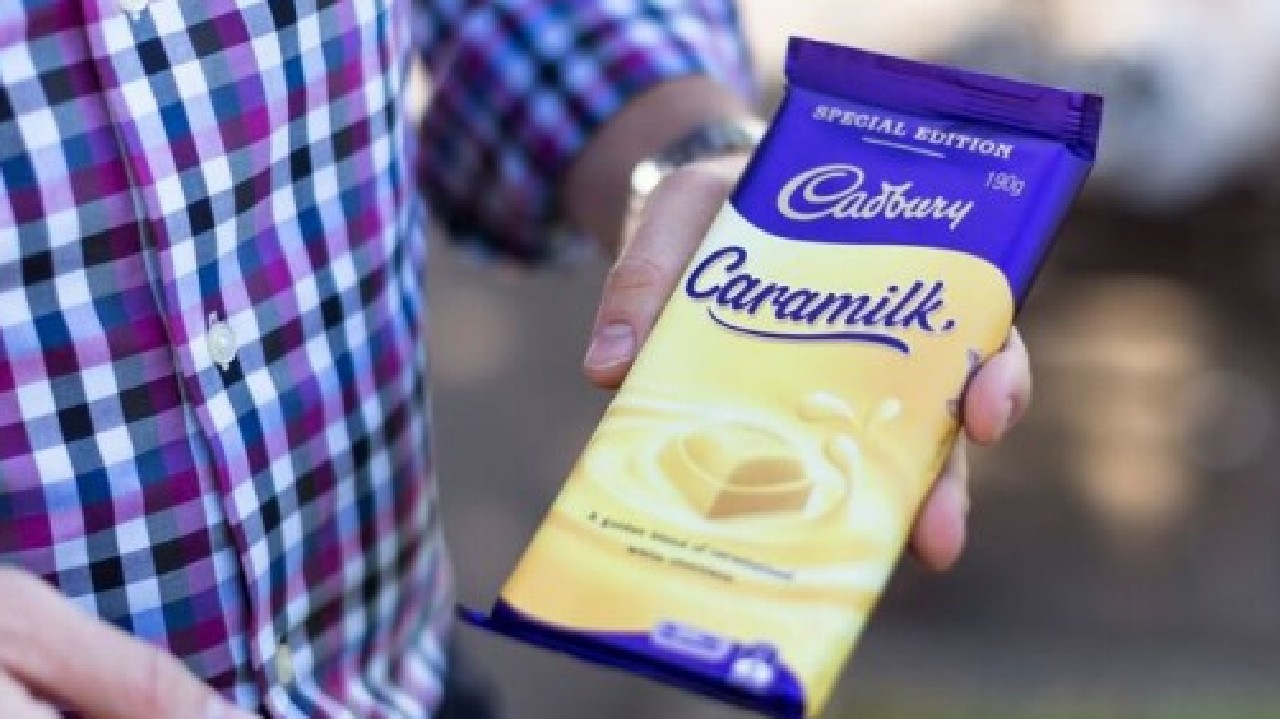 Cadbury Caramilk flew off the shelves. Picture: SUPPLIED